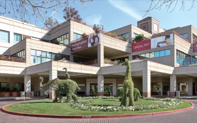 Lucille Packard children's Hospital of Stanford University
