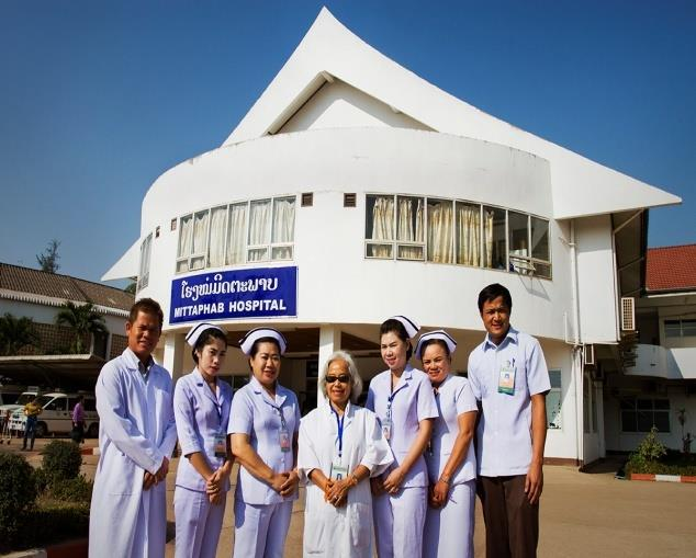 老挝友谊医院(Mittaphab Hospital)