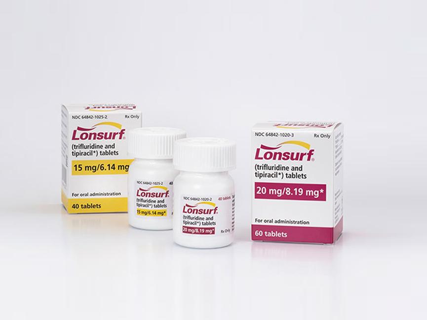 【药品名】Trifluridine and tipircacil